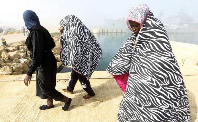 Libia, migranti in fuga