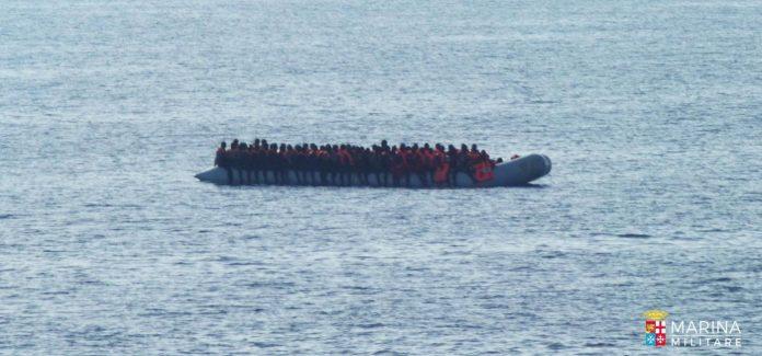 Migranti in fuga dalla Libia