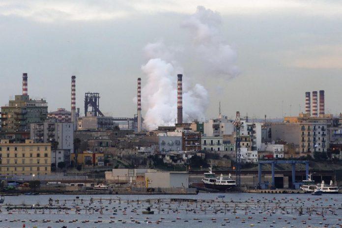 Stabilimento siderurgico dell'Ilva a Taranto