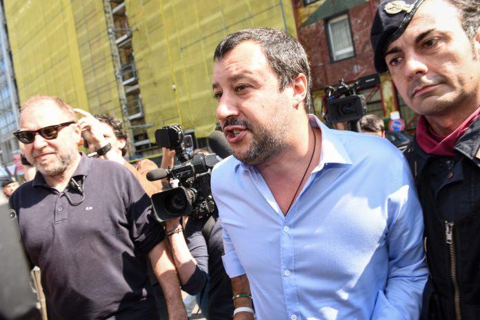 Matteo Salvini è chiaro sul governo Conte