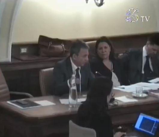 Il ministro Sergio Costa in Commissione Ambiente