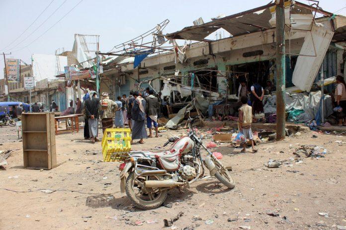 Bomba nello Yemen