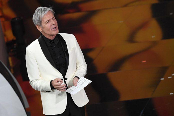 Claudio Baglioni nelle vesti di direttore artistico a Sanremo 2019