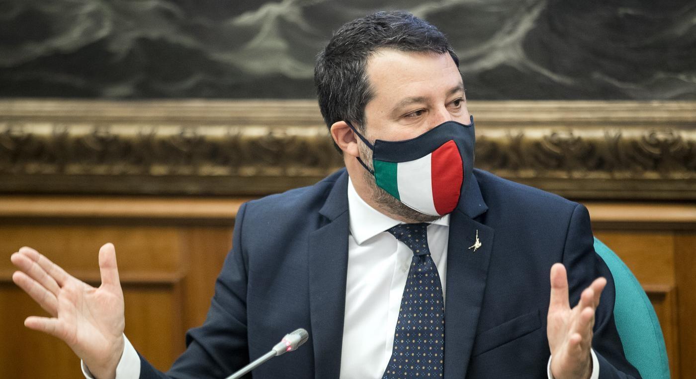 Salvini lancia il sito 'no coprifuoco': battaglia della Lega dentro il  governo